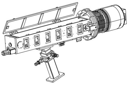 The Ten-Inch Manipulator (TIM) is the standard interface for target diagnostics.