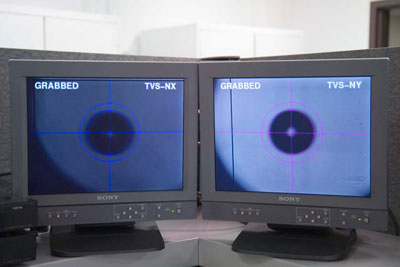 Cryogenic target shot operations monitor