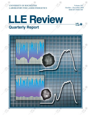Cover of LLE Review 101