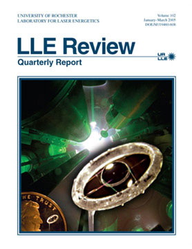 Cover of LLE Review 102