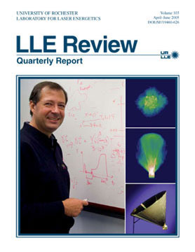 Cover of LLE Review 103