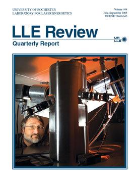 Cover of LLE Review 104