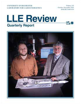 Cover of LLE Review 105