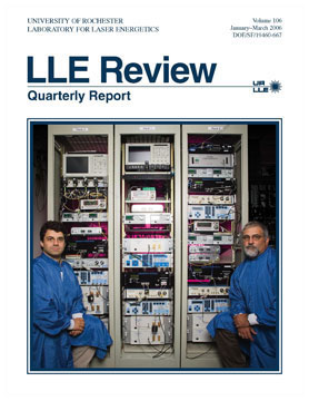 Cover of LLE Review 106