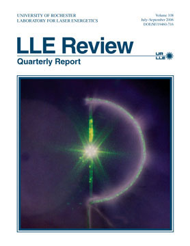 Cover of LLE Review 108