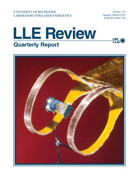 Cover of LLE Review 110