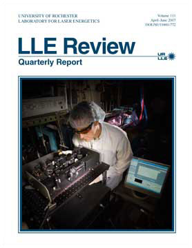 Cover of LLE Review 111