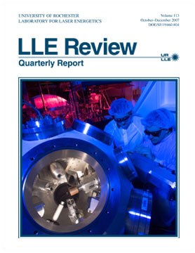 Cover of LLE Review 113