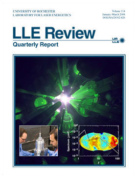 Cover of LLE Review 114