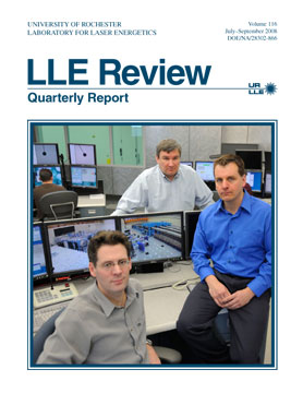 Cover of LLE Review 116