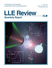 Cover of LLE Review 121