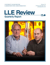 Cover of LLE Review 125