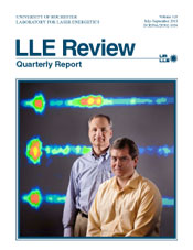 Cover of LLE Review 128