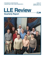 Cover of LLE Review 134