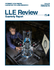Cover of LLE Review 138