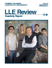 Cover of LLE Review 142