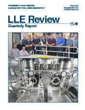 Cover of LLE Review 144
