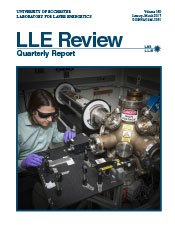 Cover of LLE Review 150