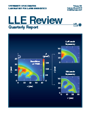 Cover of LLE Review 154