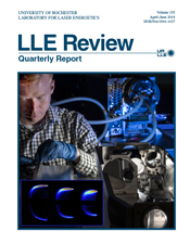 Cover of LLE Review 155