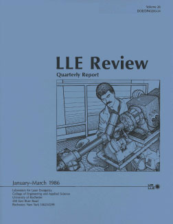Cover of LLE Review 26
