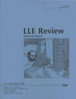 Cover of LLE Review 28