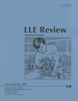 Cover of LLE Review 32