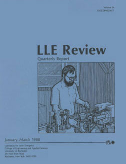 Cover of LLE Review 34