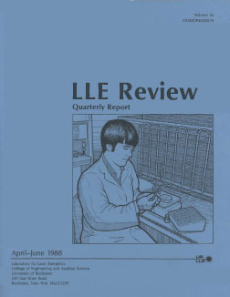 Cover of LLE Review 35