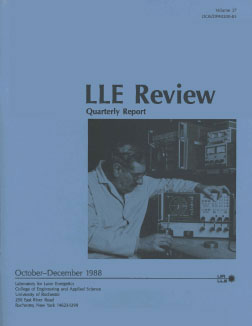 Cover of LLE Review 37