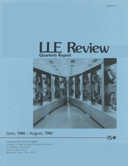 Cover of LLE Review 4