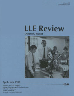 Cover of LLE Review 43