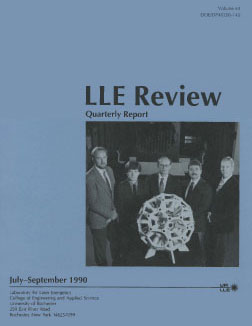 Cover of LLE Review 44