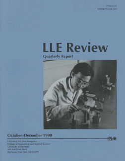 Cover of LLE Review 45
