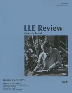 Cover of LLE Review 46