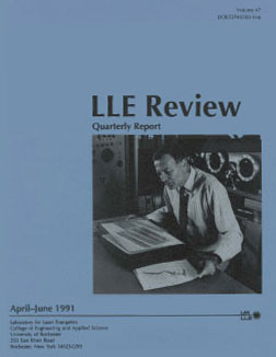 Cover of LLE Review 47