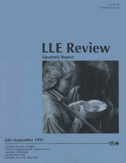 Cover of LLE Review 48