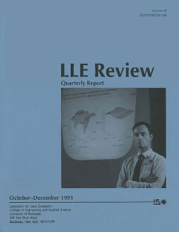 Cover of LLE Review 49