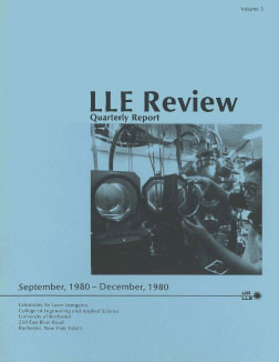 Cover of LLE Review 5
