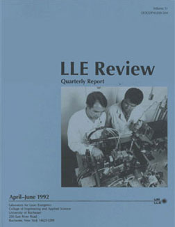 Cover of LLE Review 51