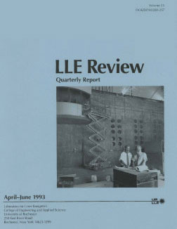 Cover of LLE Review 55