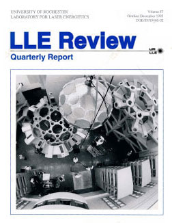 Cover of LLE Review 57
