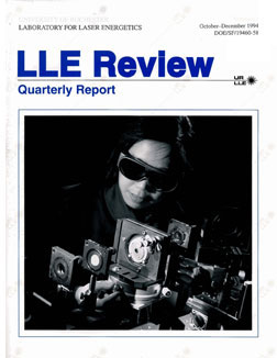 Cover of LLE Review 61