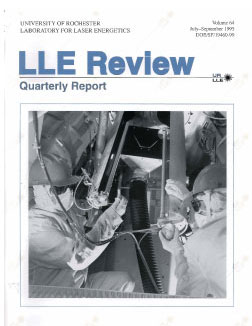 Cover of LLE Review 64