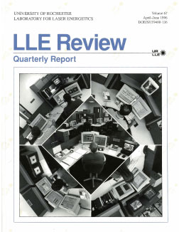 Cover of LLE Review 67