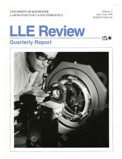 Cover of LLE Review 75