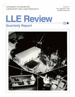 Cover of LLE Review 76