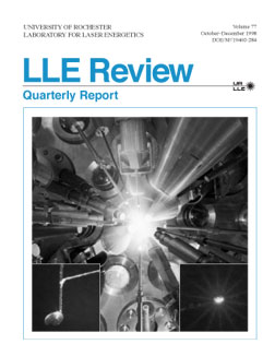 Cover of LLE Review 77