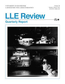 Cover of LLE Review 78