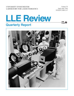 Cover of LLE Review 79